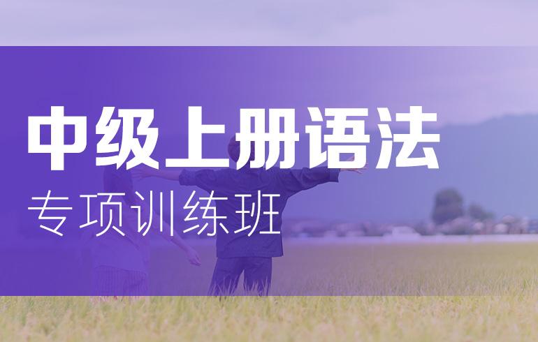 未名天日语培训网 中级上册语法专项训练班