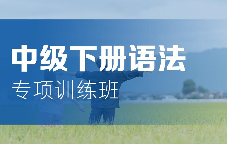未名天日语培训网 中级下册语法专项训练班